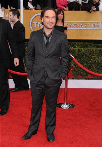 Johnny Galecki in SAG