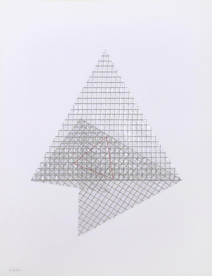 Esther Ferrer Triángulo interno de Napoleón ARCO 2013