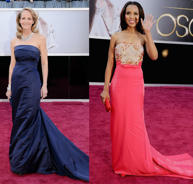 Helen Hunt H&m Kerry Washington Miu Miu  Oscar 2013