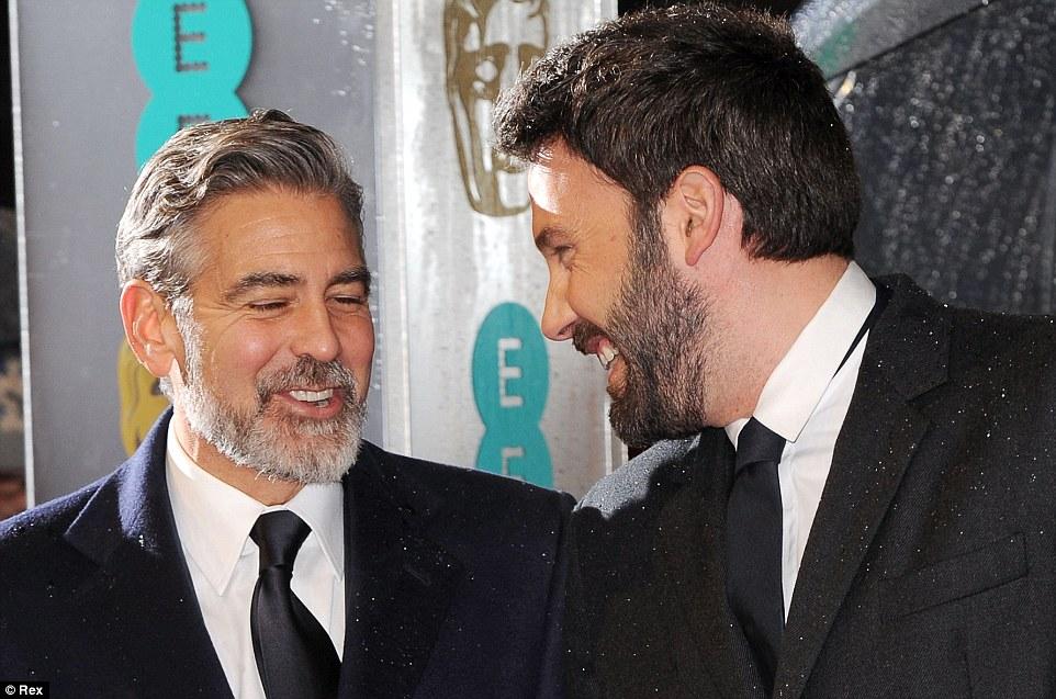 George Clooney y Ben Affleck Bafta 2013