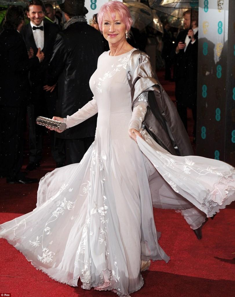 Helen Mirren Bafta 2013
