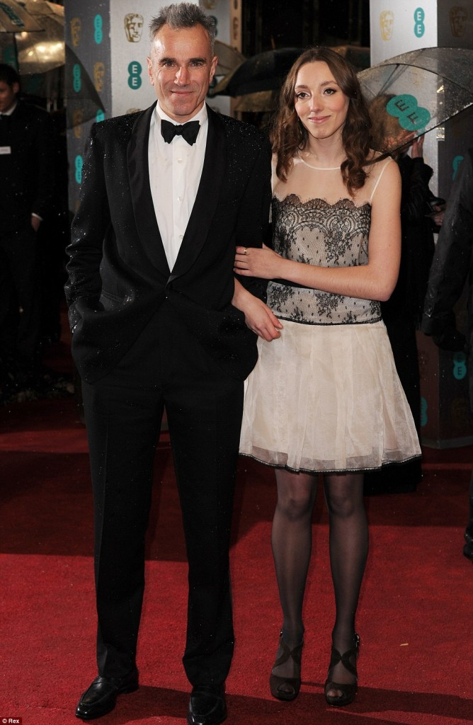 Daniel Day Lewis y su sobrina Charissa ShearerBafta 2013