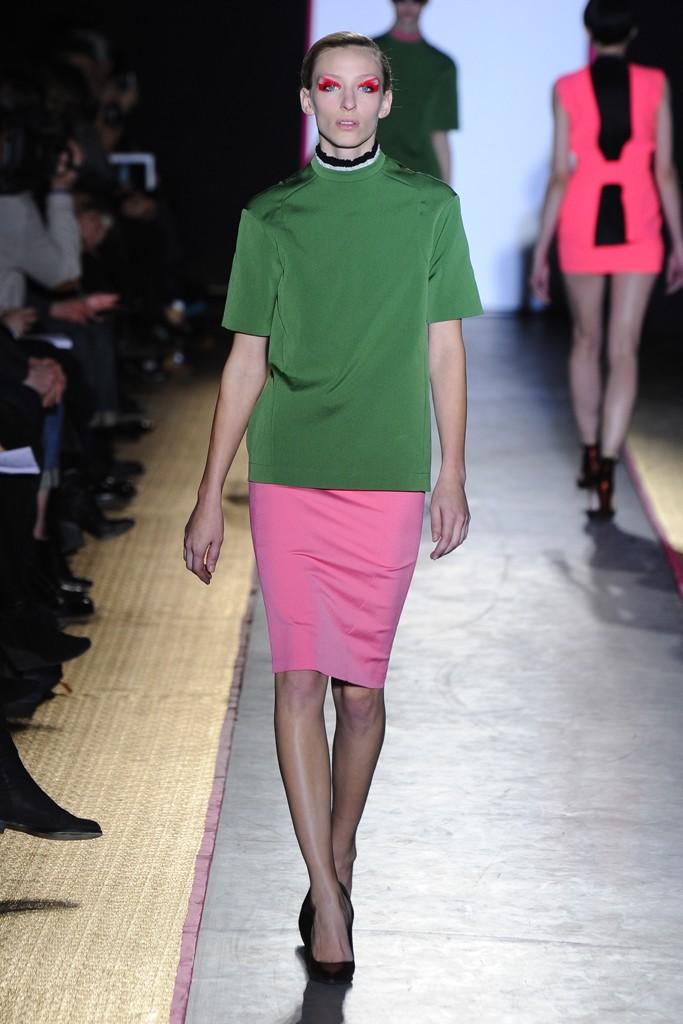 Cedric Charlier Paris Fashion Week otoño invierno 2013-2014