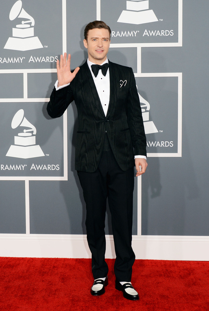 Justin Timbarlake Tom Ford Grammy Awards 2013