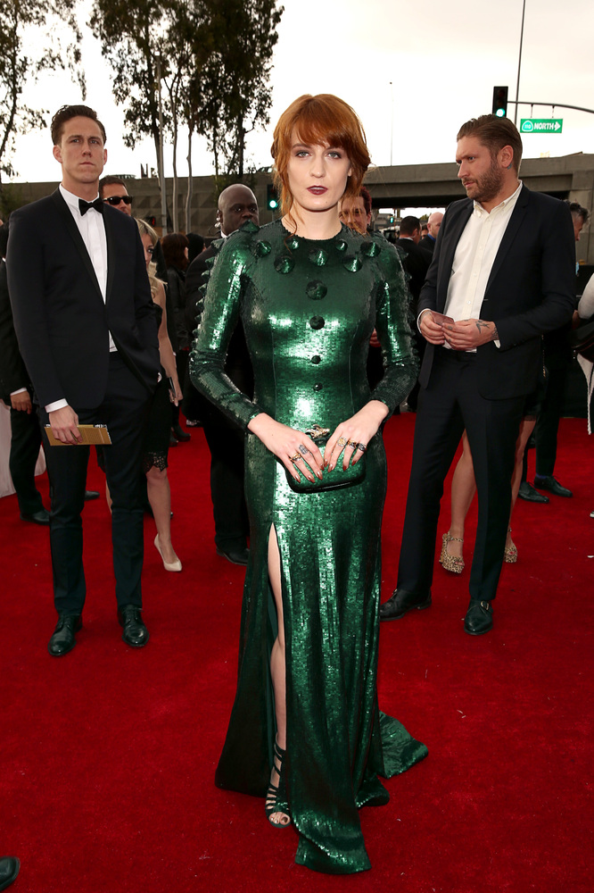 Florence Welch in Givenchy Grammy Awards 2013