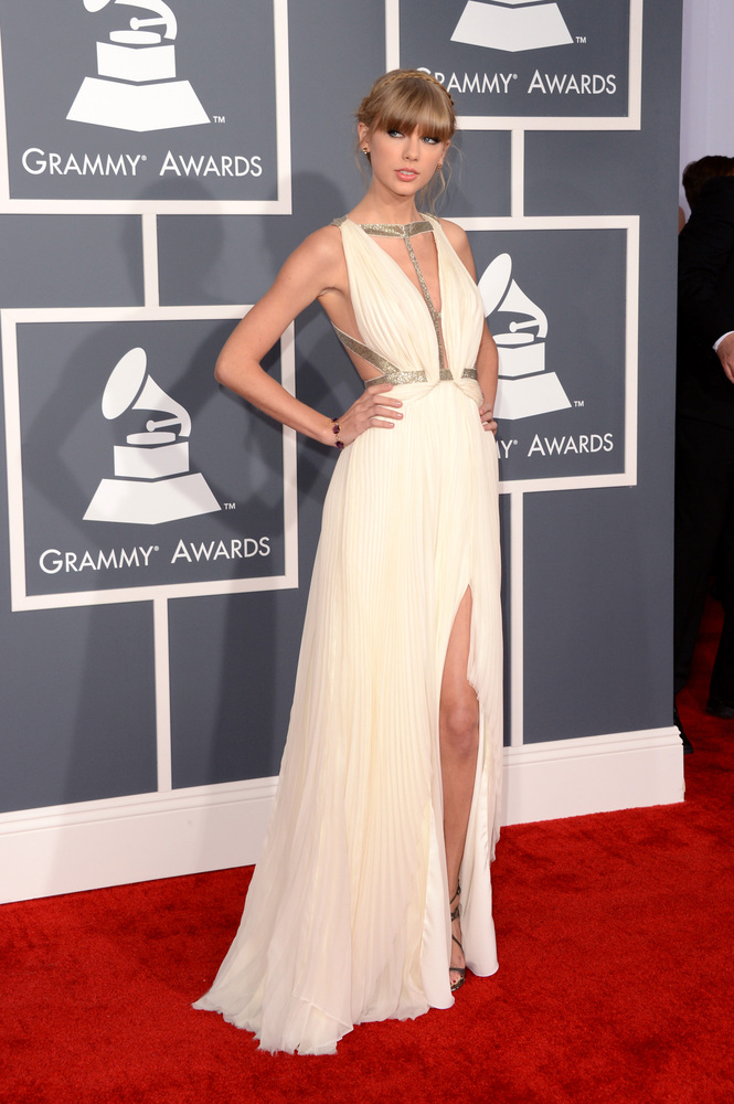 Taylor Swift J. Mendel Grammy Awards 2013