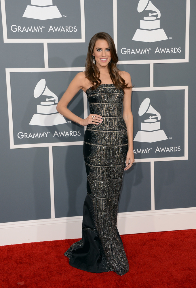 Allison Williams KAUFMANFRANCO Grammy Awards 2013
