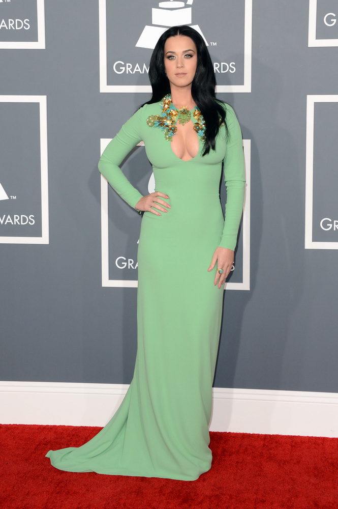 Katy Perry Gucci Grammy Awards 2013