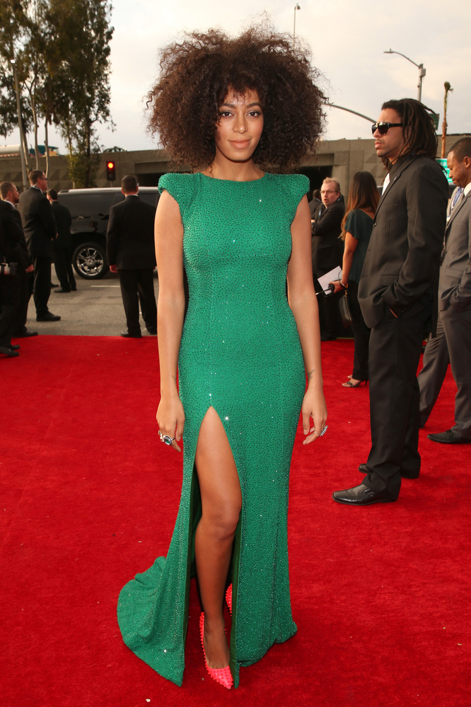 Solange Knowles Grammy Awards 2013