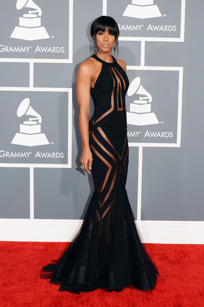 Kelly Rowland Georges Chakra Grammy Awards 2013