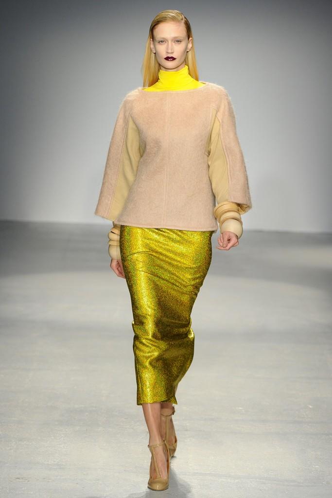 V Branquinho Paris Fashion Week otoño invierno 2013-2014