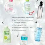 Cuidado facial I: limpiar y desmaquillar