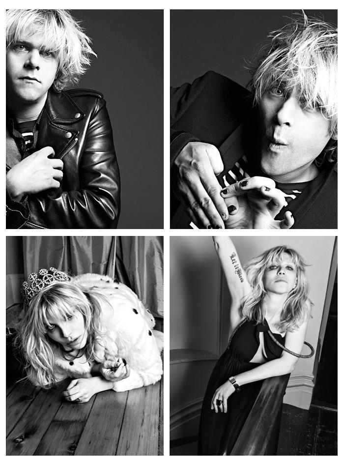 Courtney Love Saint Laurent Hedi Slimane