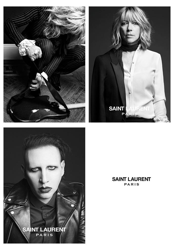 Marilyn Manson Saint Laurent