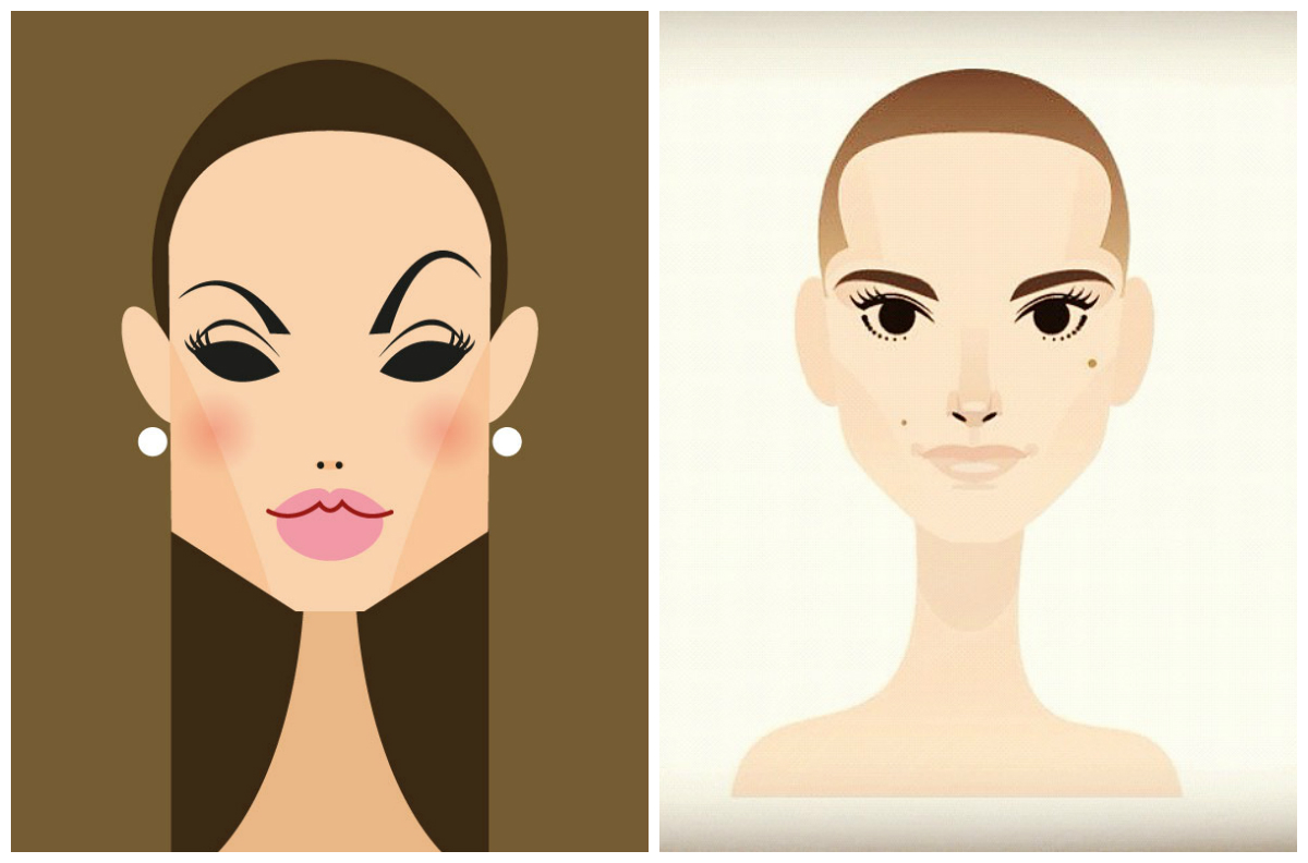 Angelina Jolie y Natalie Portman by Stanley Chow