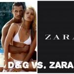 Hermana rica, hermana pobre: Light Blue D&G y ZARA
