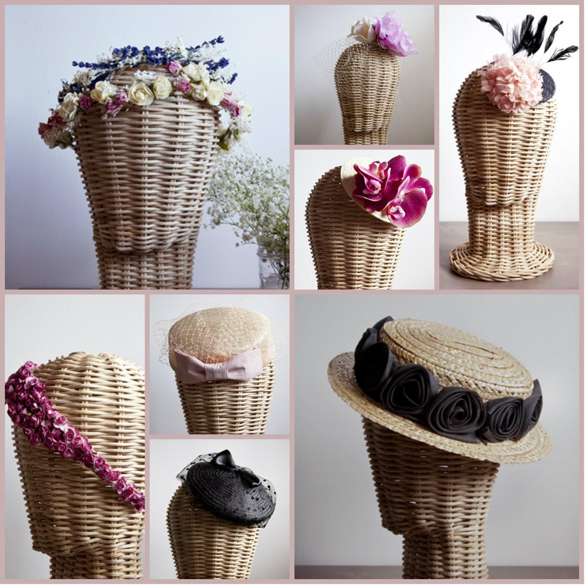 Tocados y sombreros para bodas