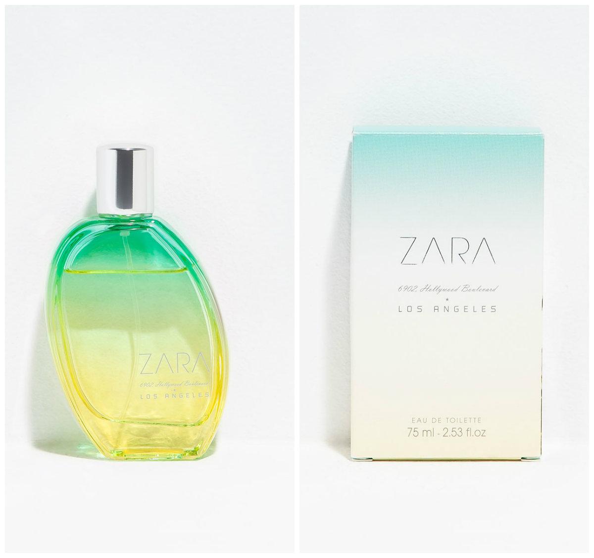 Zara Los Angeles clon D&G Light Blue