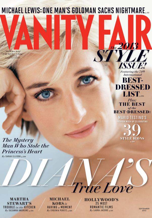 Diana de Gales Septiembre 2013 Vanity Fair US