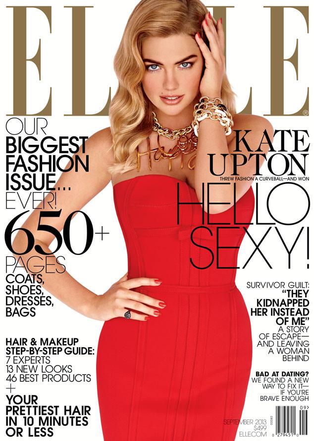 Kate Upton Septiembre 2013 Elle US