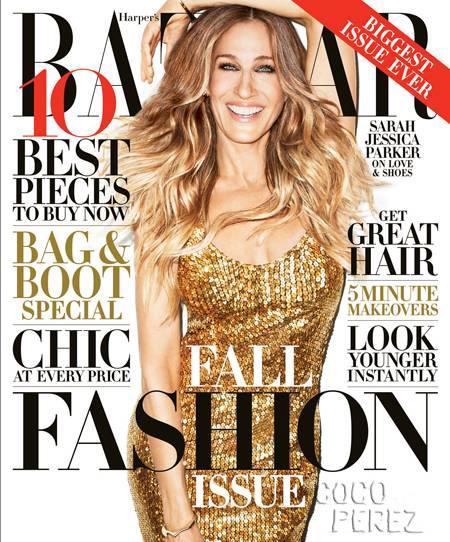 Sarah Jessica Parker Septiembre 2013 Harper Bazaar  US
