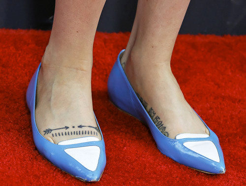 Zosia Mamet Honor Tatuajes