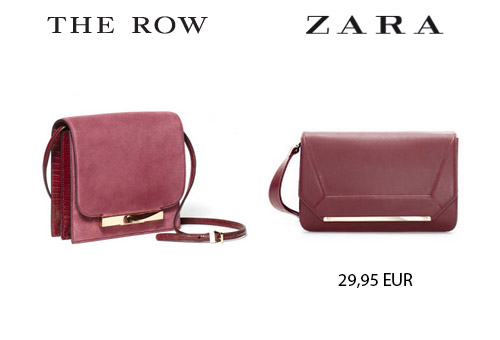 bolso the row zara