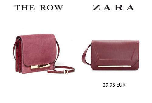 bolso the row zara