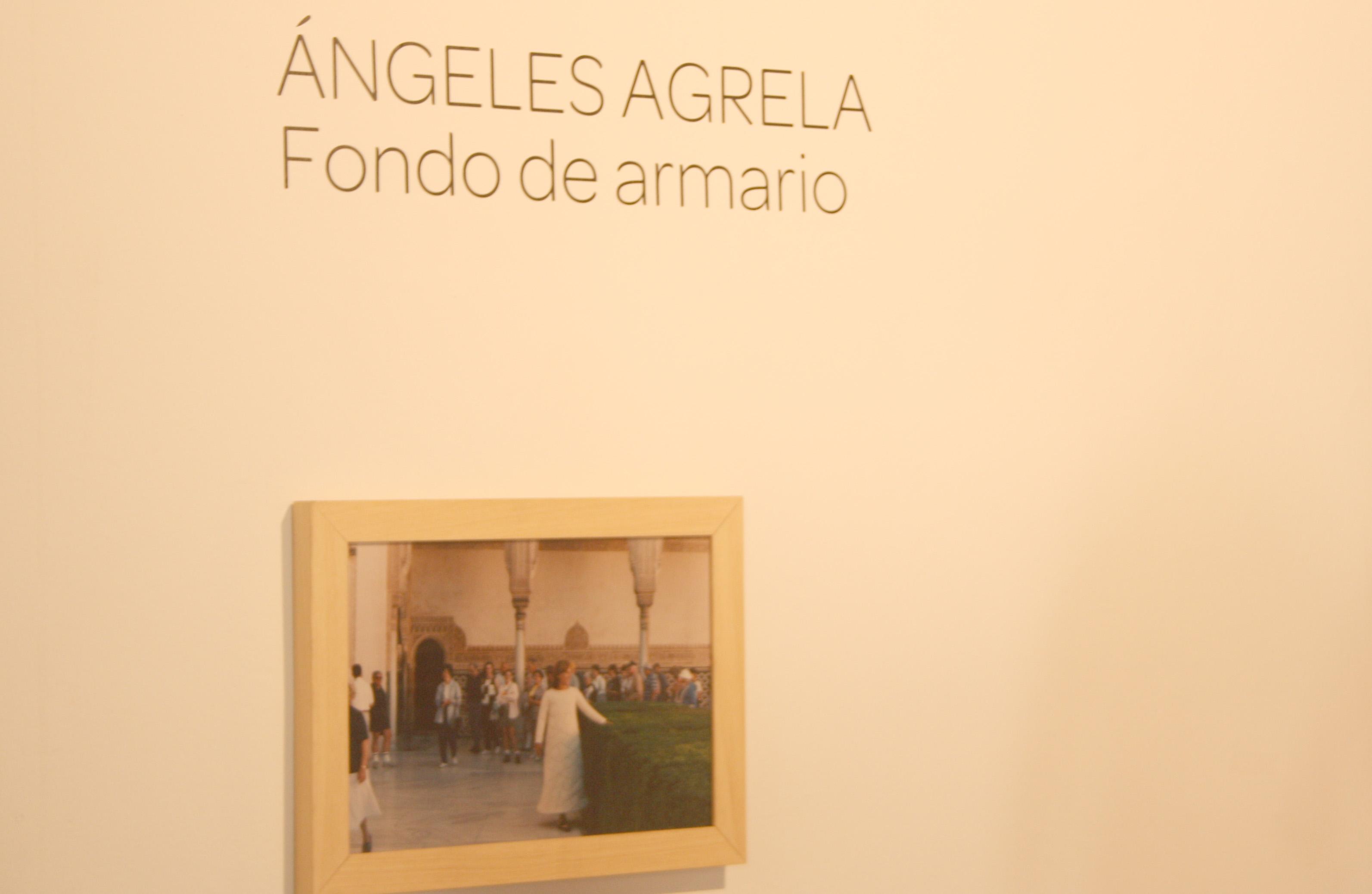 Ángeles Agrela, Fondo de Armario