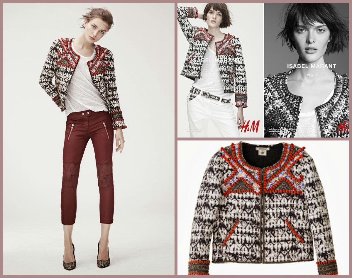 Chaqueta de Isabel Marant para H&M