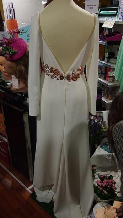 Vestido de novia de Cayetana Ferrer