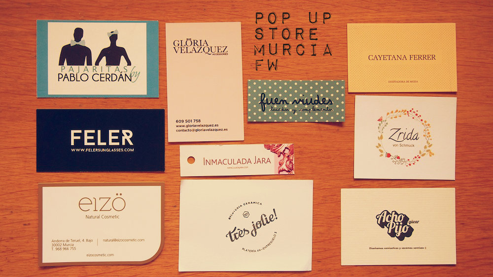 Murcia Fashion Week Pop up Store