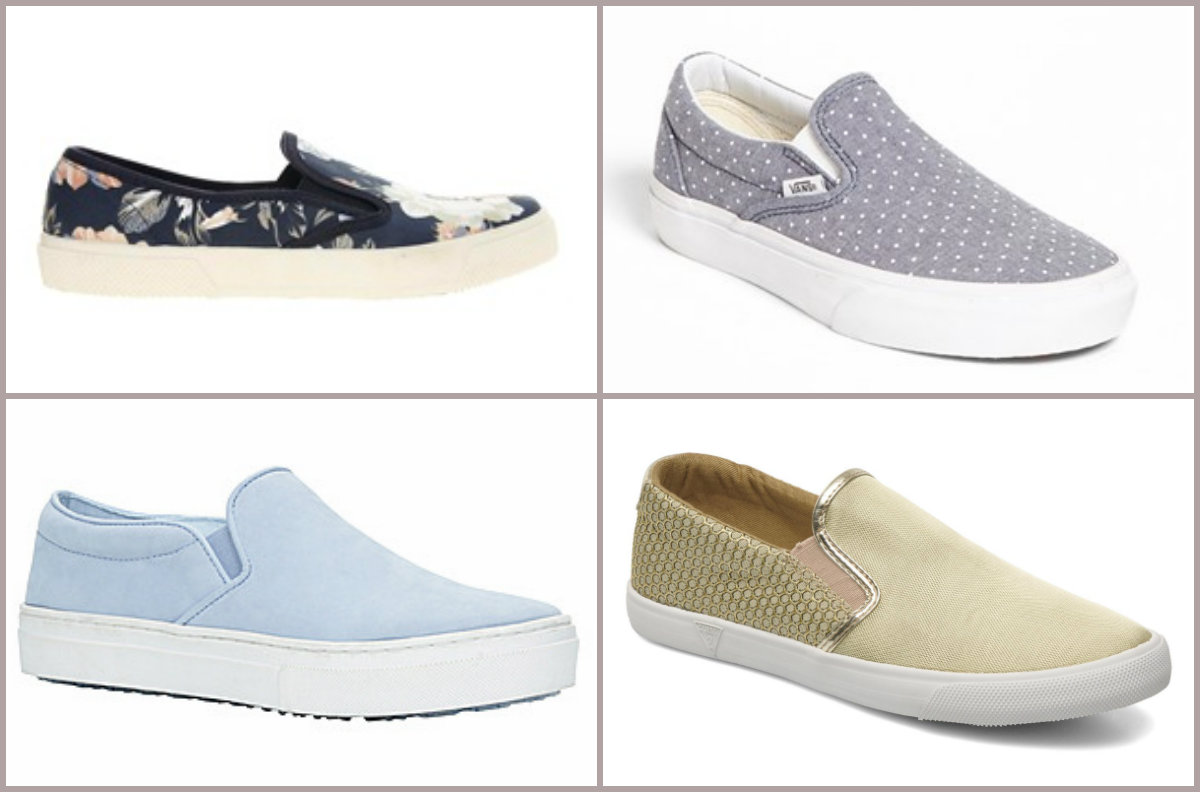 Slip on sneakers Dockland, VANS, MARA y GUESS