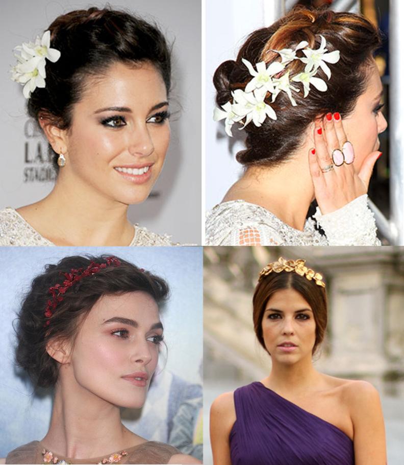 Blanca Cuesta Keira Knightley Trendy Taste flores pelo