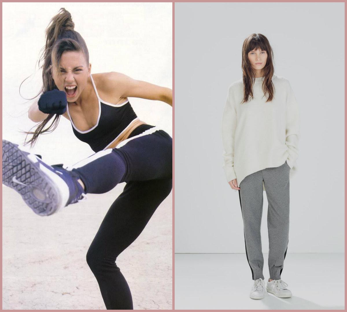 Sporty chic, Mel C y la apuesta de Zara Woman