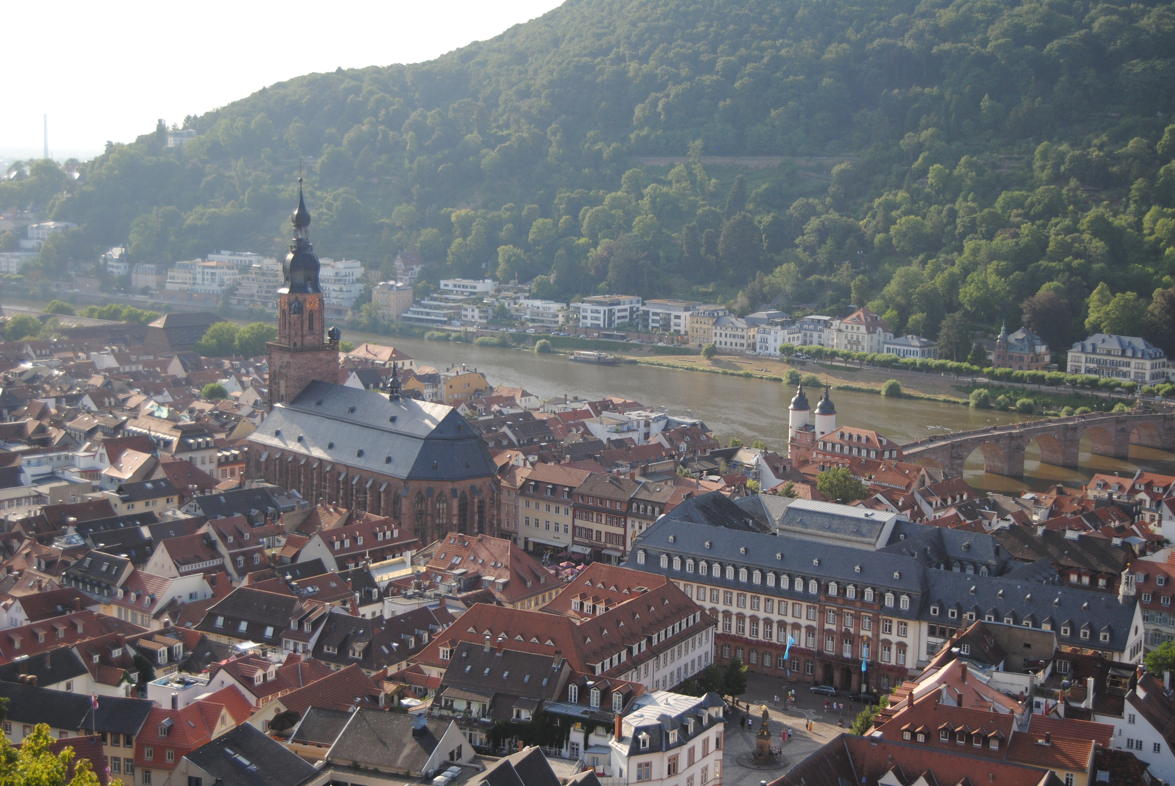 Vistas desde el Castillo de Heidelberg